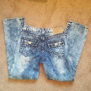Boys True Religion straight jeans Sz 10